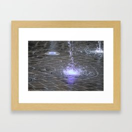 droplet Framed Art Print