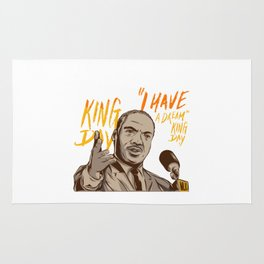 Martin Luther King I have A Dream Day Rug