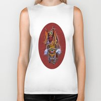 theatre Biker Tanks featuring Chinese Theatre by Lucia