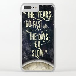 Getting Old Clear iPhone Case