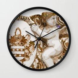 Angel Crest Wall Clock