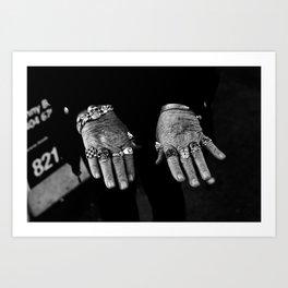 Ring Fingers Art Print