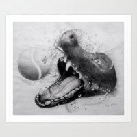 It's A dogs Life Art Print