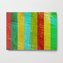 colourful wall Metal Print