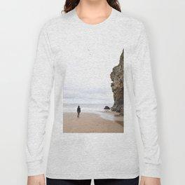 Sunderland coast in United Kingdom Long Sleeve T-shirt