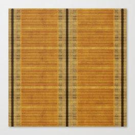 """Simple Oriental Curtains (Orange)"" Canvas Print"