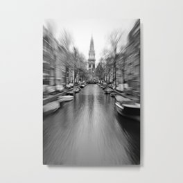 Old Amsterdam. Metal Print