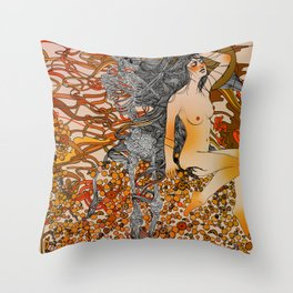 I'm Losing Your Mind Throw Pillow