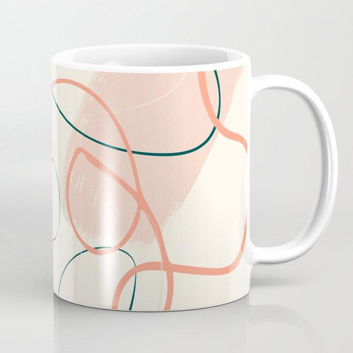 the dance 3 - minimal line art brush stroke Coffee Mug