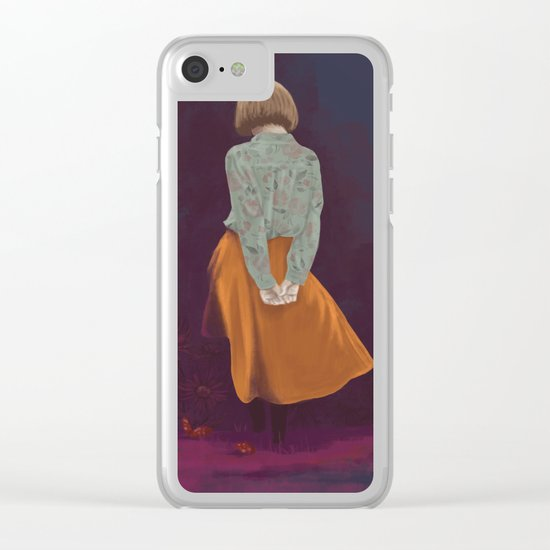 consist Clear iPhone Case