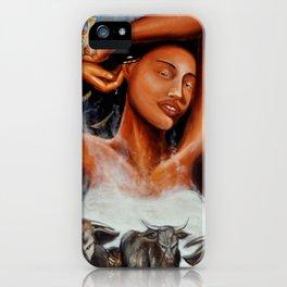 Goddess Hathor iPhone Case