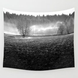 misty valley Wall Tapestry