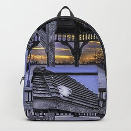 Winter in the Park Backpack