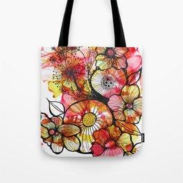 Original Artwork: Rusty Garden Tote Bag