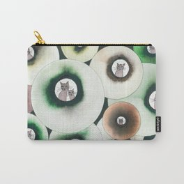 Lolo Whimsical Cats Carry-All Pouch