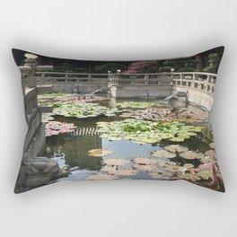 Temple waters  Rectangular Pillow