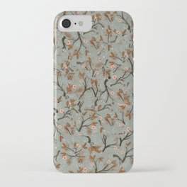 Snow Floral iPhone Case