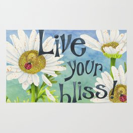 Live Your Bliss Rug