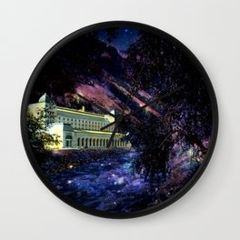 Enchanted Palace By the River Wall Clock