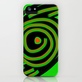 Spin Out Sixty Nine iPhone Case