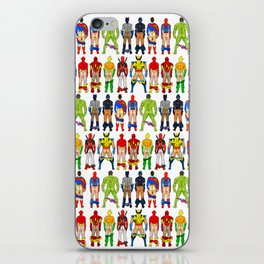 Superhero Butts iPhone Skin