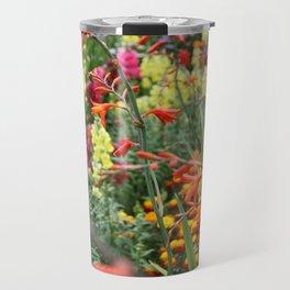 Flowers in the Kitchen Garden Travel Mug
