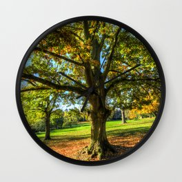 Autumn In England Wall Clock