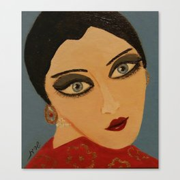 Hanna Ruby Canvas Print