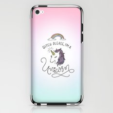 Bitch Please, I'm a Unicorn iPhone & iPod Skin