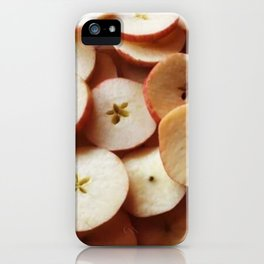 Sliced Apple Stars iPhone Case