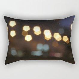 Scrached lightings Rectangular Pillow