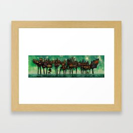 Kex City Framed Art Print