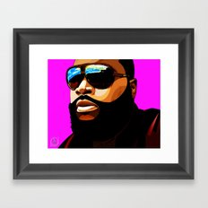 Rozay Framed Art Print
