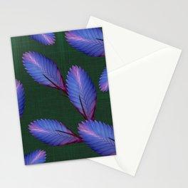Tillandsia in emerald green Stationery Cards