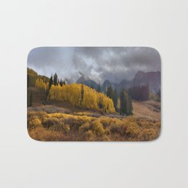 Colorado Fall Colors 2 Bath Mat