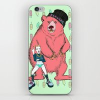 miley cyrus iPhone & iPod Skins featuring Miley Cyrus by Lizz Buma