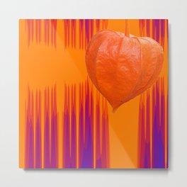 Color from nature - Orange Metal Print