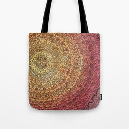 The Center of It All in Color Tote Bag