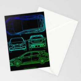 Focus RS MK3 Stationery Cards