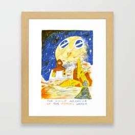 The Guild Archive of the Astral Watch Framed Art Print