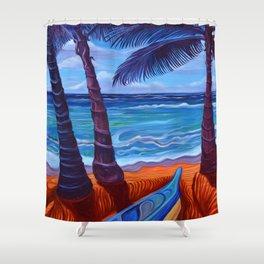 Maka Leha - Glance In Wonder Shower Curtain