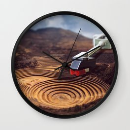 Nature's Groove Wall Clock