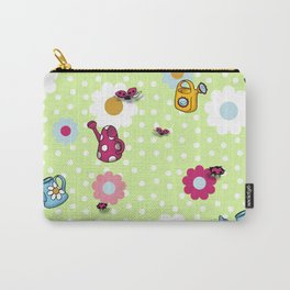 Bees & Beetles Carry-All Pouch