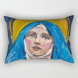 Ecstasy VII. The Annunciation Rectangular Pillow