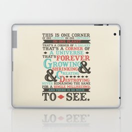 There Is So Much To See Laptop & iPad Skin