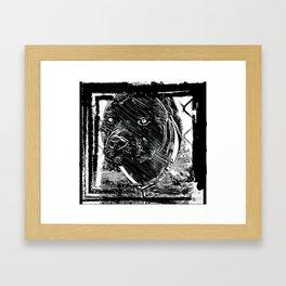Pit Bull Models: Khan 02-02 Framed Art Print