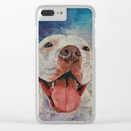 Pitbull Clear iPhone Case