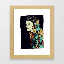 All those beautiful girls and boys Framed Art Print