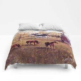Nova Scotia, CANADA                             by Kay Lipton Comforters