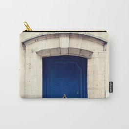 Paris door, dark blue Carry-All Pouch
